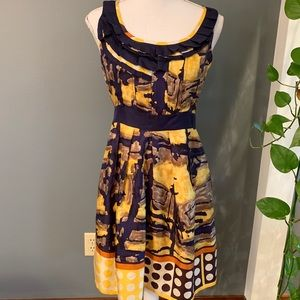 Anthropologie Baraschi Dress~Size 4